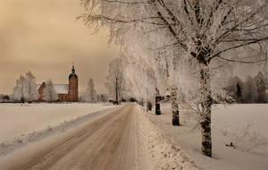 Norweigen church by TonyD3