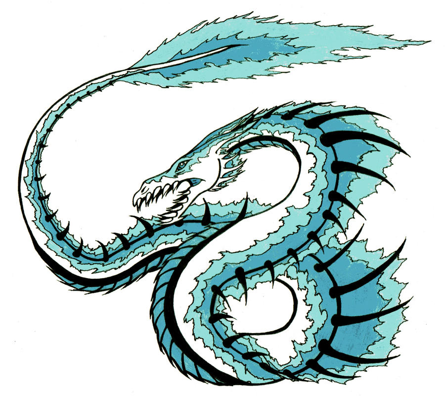 Azure the Water Dragon by Linear13 on DeviantArt