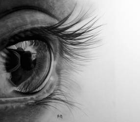 eye drawing 4 by hg-art