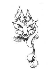 foxxie tattoo by SelphieKwanYin