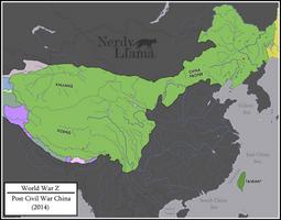 World War Z - Post Civil War China (2014) by NerdyLlamaAltHist
