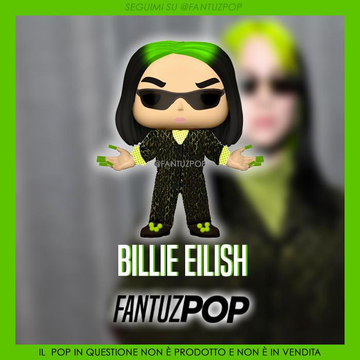 Custom Funko Pop Billie Eilish By Sputnikbell On Deviantart