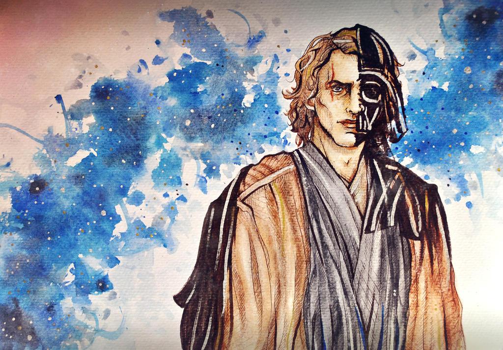 Dark Side - Anakin Skywalker by arsidoas