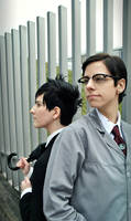My secret friend - Penguin and Riddler by arsidoas