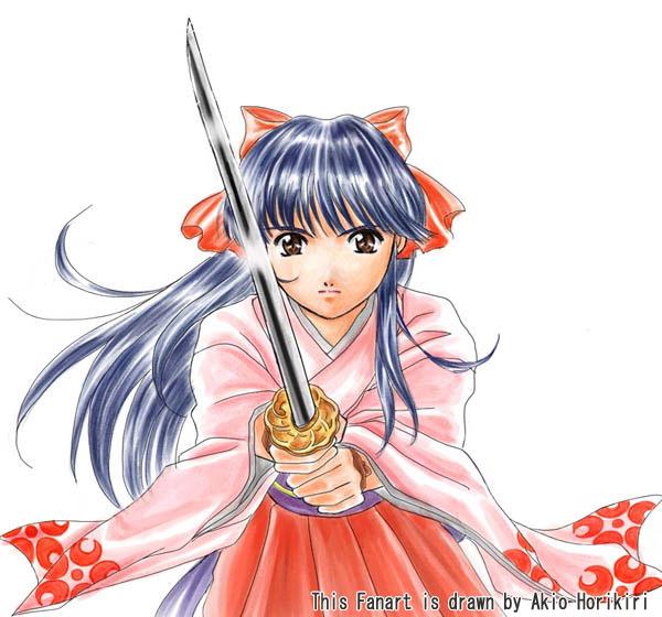 Sakura Taisen-Sakura Shinguji by Horikiri