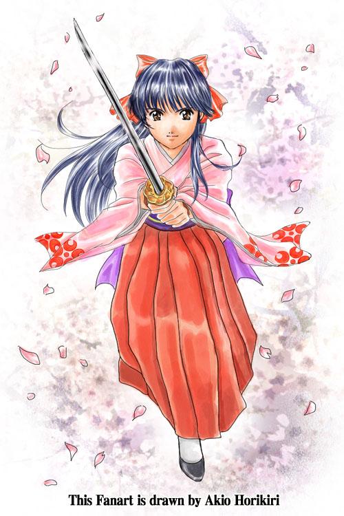 Sakura Taisen(Sakura wars)- Sakura Shinguji - by Horikiri