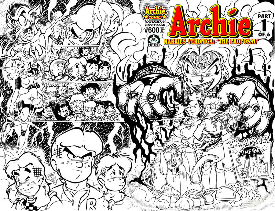 Archie 600 - Hero Initiative by jongraywb