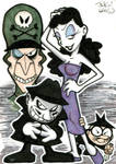 Sketch Card: Rocky and Bullwinkle (Villains)