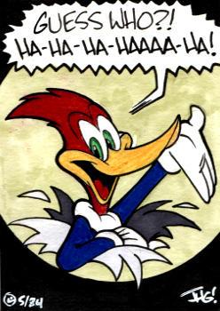 Sketch Card: Woody Woodpecker