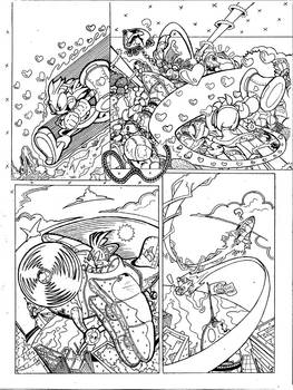 Sonic the Hedgehog #132: Page 11 (Sample Page)