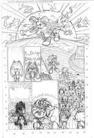 Sonic the Hedgehog #134: Page 18 (AKA The Slap)
