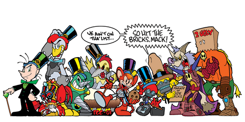 The 1st Annual Eggman/Robotnik Parade of Sidekicks