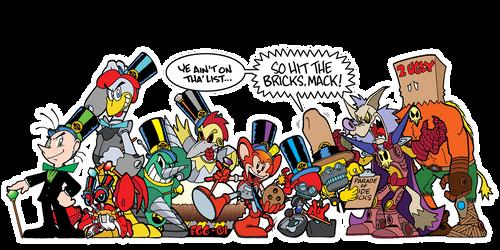 The 1st Annual Eggman/Robotnik Parade of Sidekicks