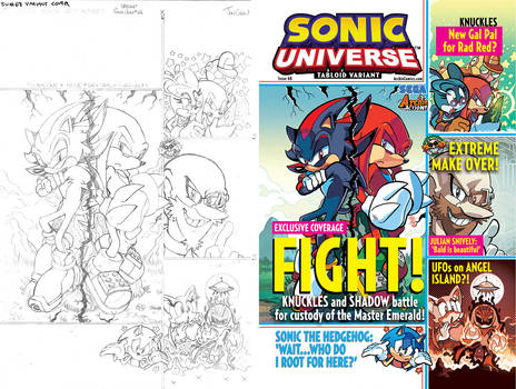 Sonic Universe #68 Variant Cover