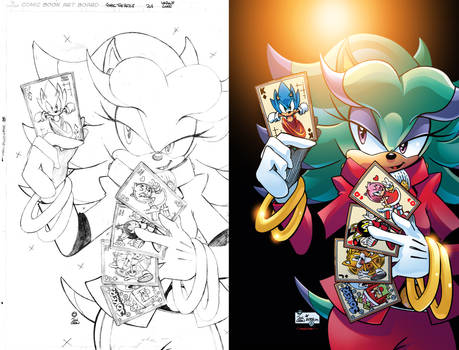 Sonic the Hedgehog #268 Variant Cover