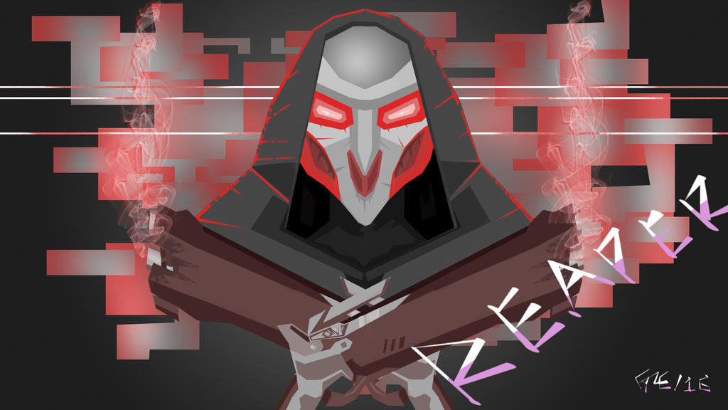 Overwatch: Reaper by WizardFyre