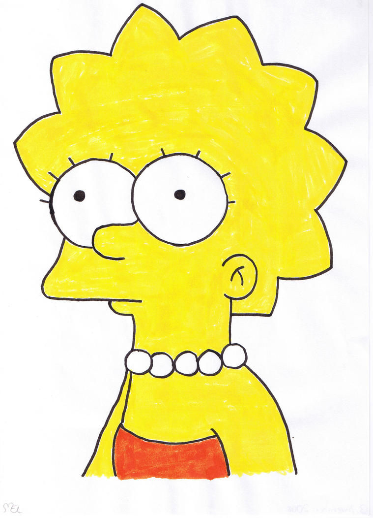 Lisa Simpson by moniLainLP