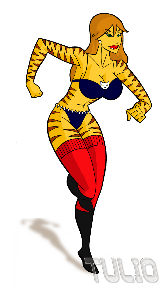 Tigra again by TULIO19mx