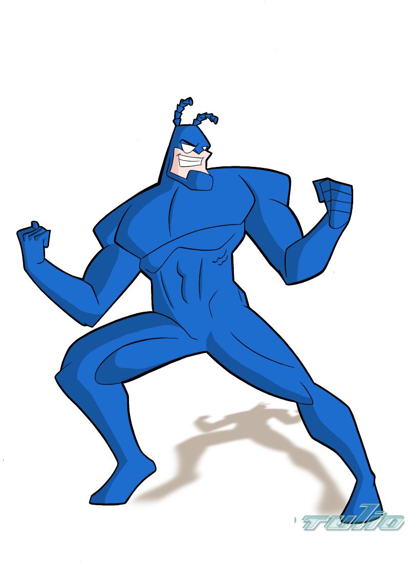 The Tick Cartoon Wallpaper