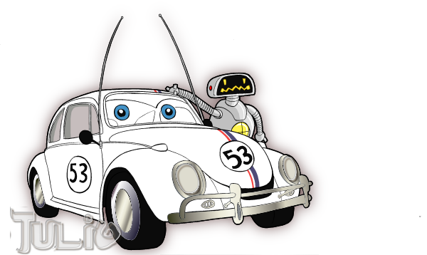 Herbie Car Coloring Pages : Herbie by tulio mx on deviantart