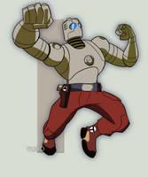 Atomic Robo by TULIO19mx