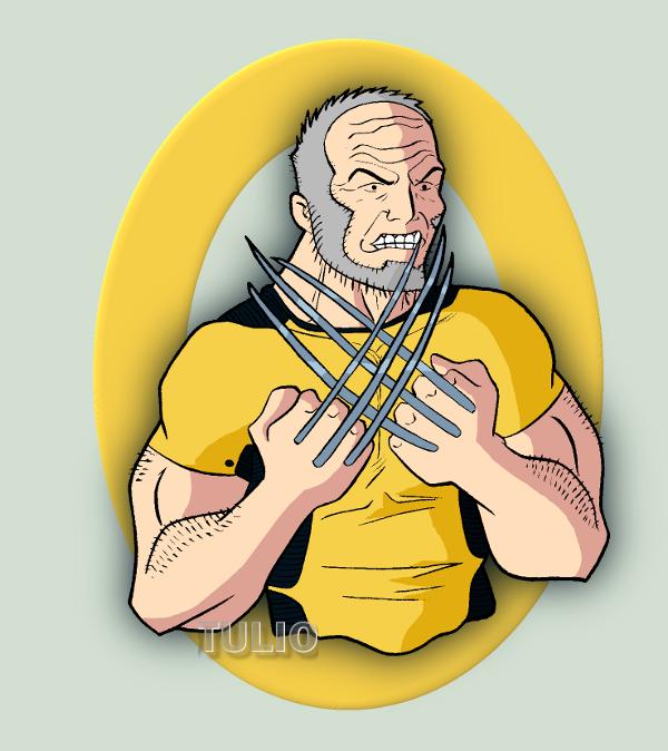 DSC Old Man Logan by TULIO19mx