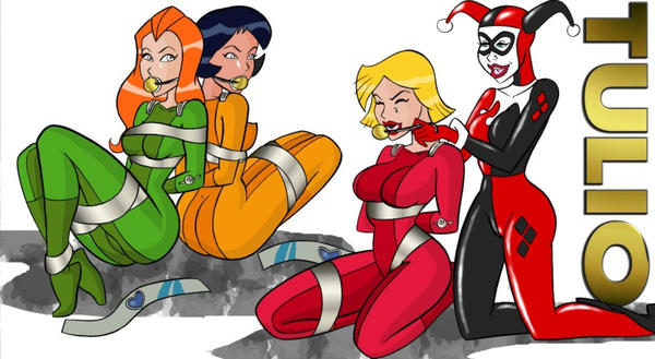 Harley and Totally Spies by TULIO19mx