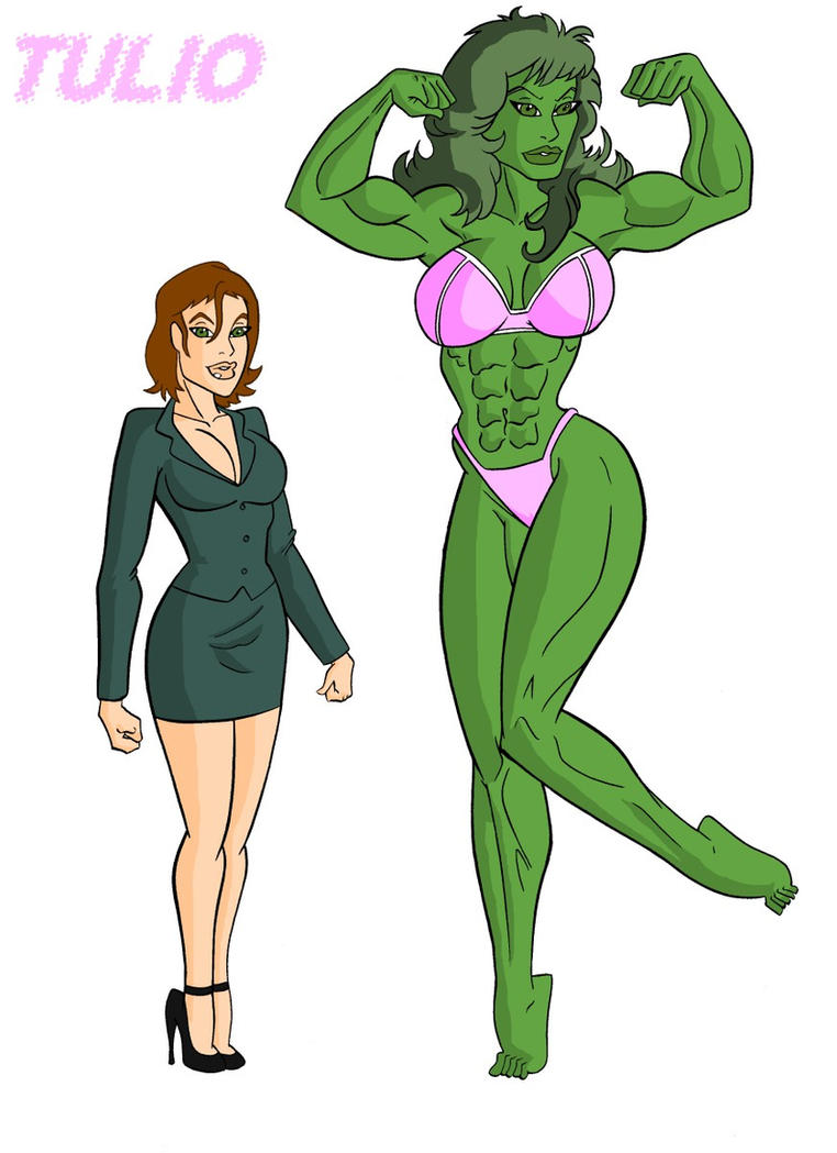 Gallery images and information: She Hulk Transformation