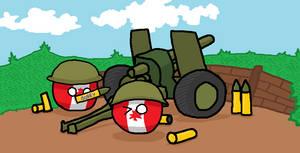 Canadian royal artillery!
