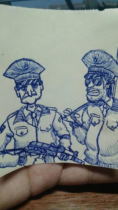 Chernaruzki polis by mcnipples