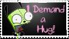 GIR Stamp - Hugs