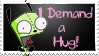 GIR Stamp - Hugs by SanguineEpitaph