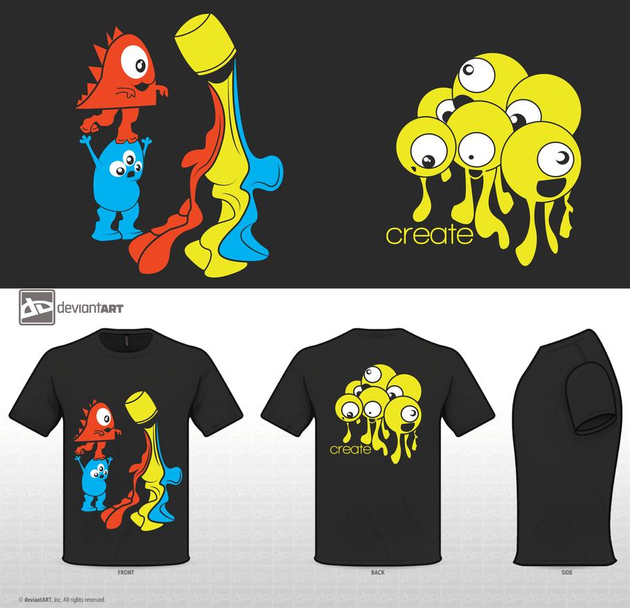 Creative Ideas For T Shirt Designs