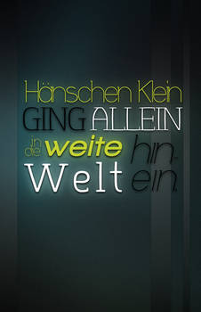 Hanschen Klein Typography
