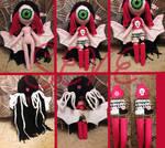 Seve amigurumi crochet doll by SweetLunar