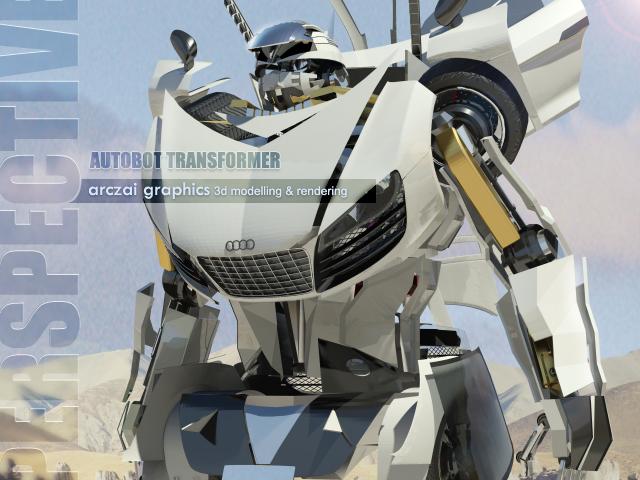 My First Autobot Transformer by arczai