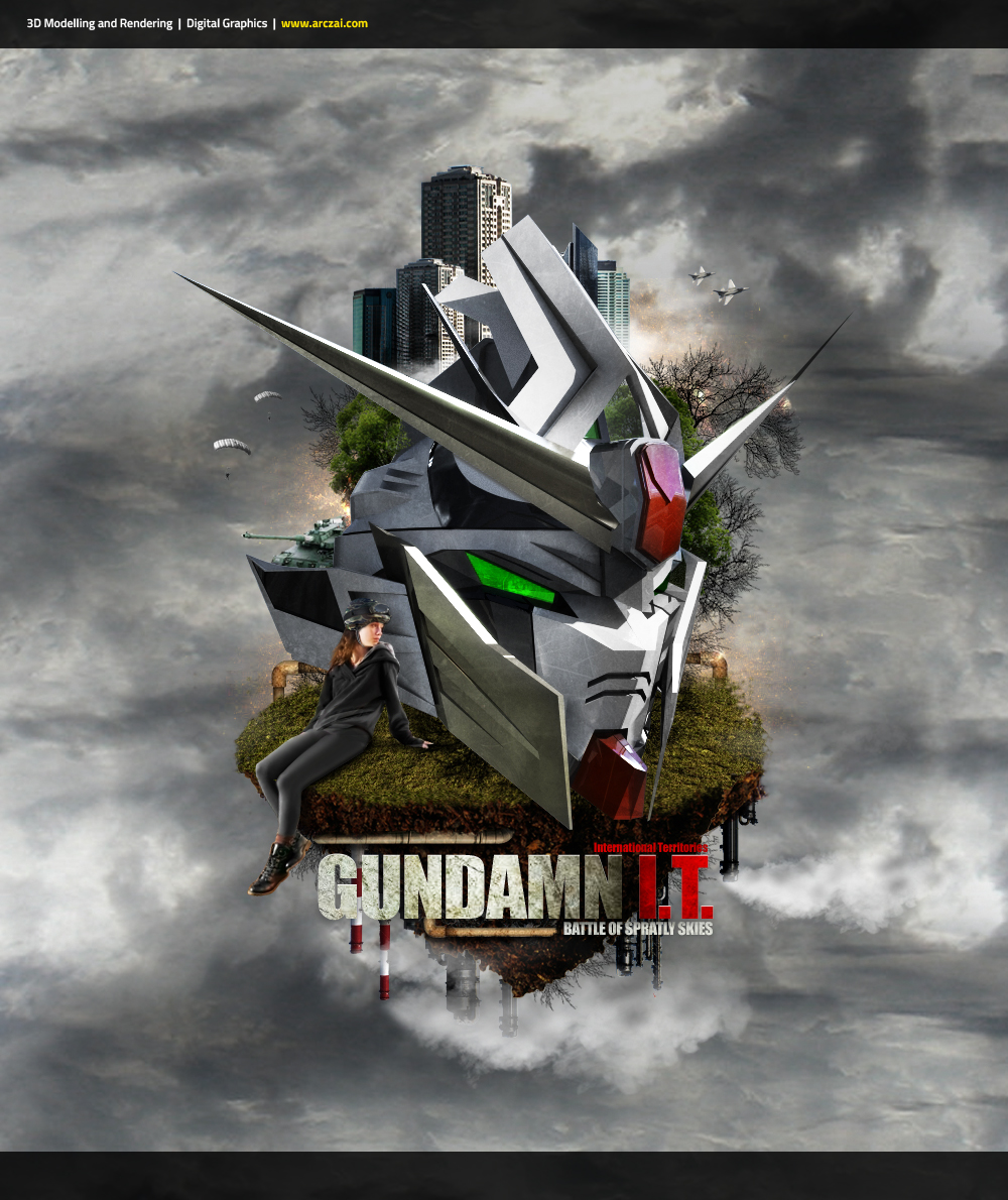 Gundamn It! by arczai