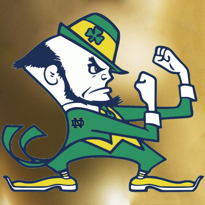 List Of Synonyms And Antonyms Of The Word Notre Dame Leprechaun