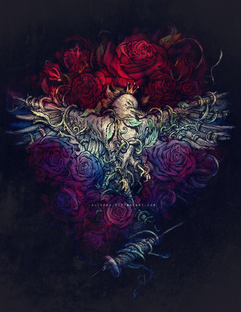 Sleeping Beauty by alicexz