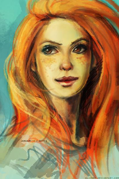 Ginny by alicexz