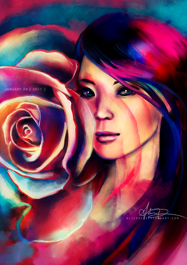 Shanghai Rose by alicexz on DeviantArt