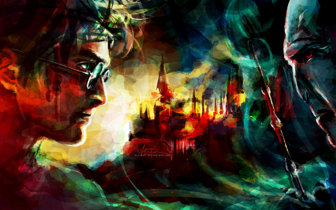 Good Wallpaper Harry Potter Watercolor - it_all_ends_here_by_alicexz-d3cscrd  Pictures_208459.jpg
