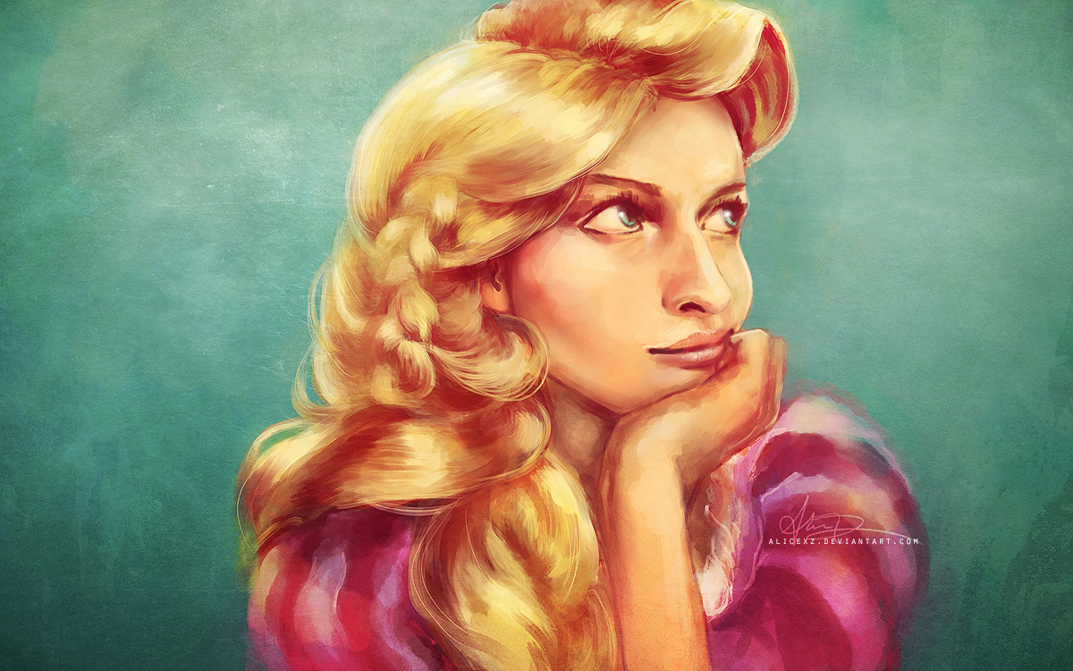 Real-life Rapunzel by alicexz