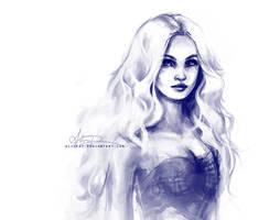 Daenerys sketch by alicexz