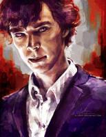 Sherlock by alicexz