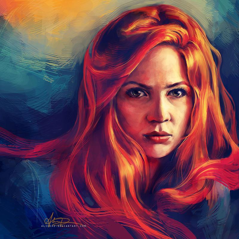 Amy Pond by alicexz