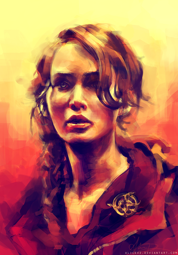 Katniss by alicexz