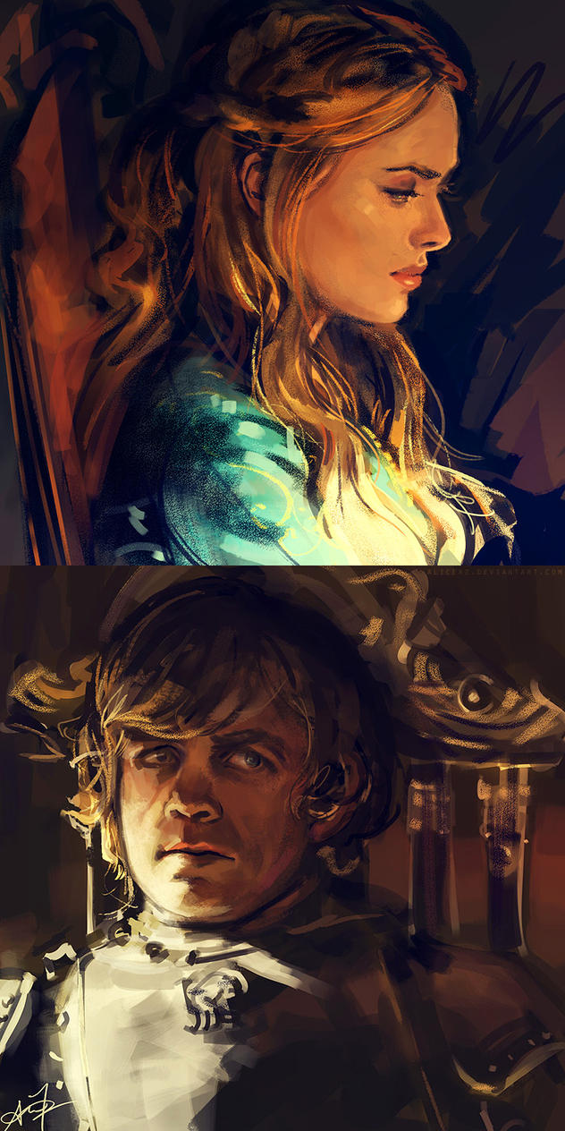 Cersei and Tyrion by alicexz