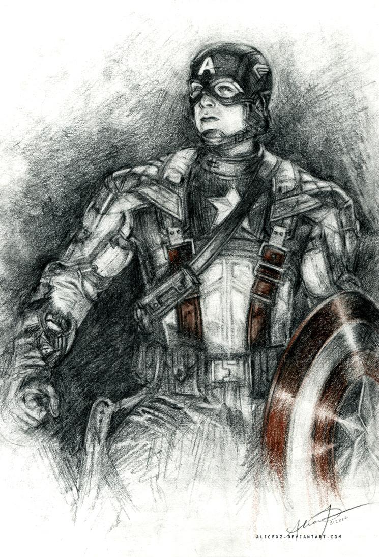 Captain America by alicexz