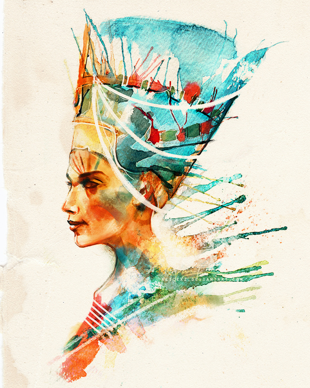 Nefertiti by alicexz